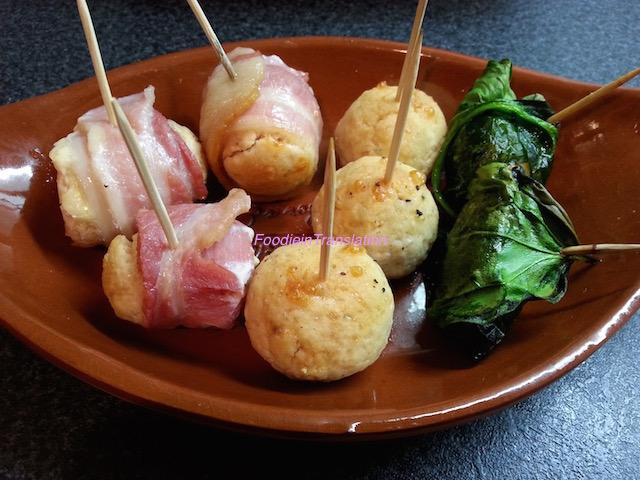 Polpette miste al forno - Baked meatball