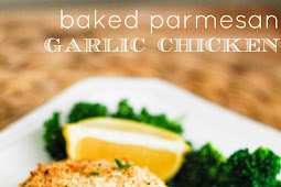 Delicious Baked Parmesan Garlic Chicken Recipe