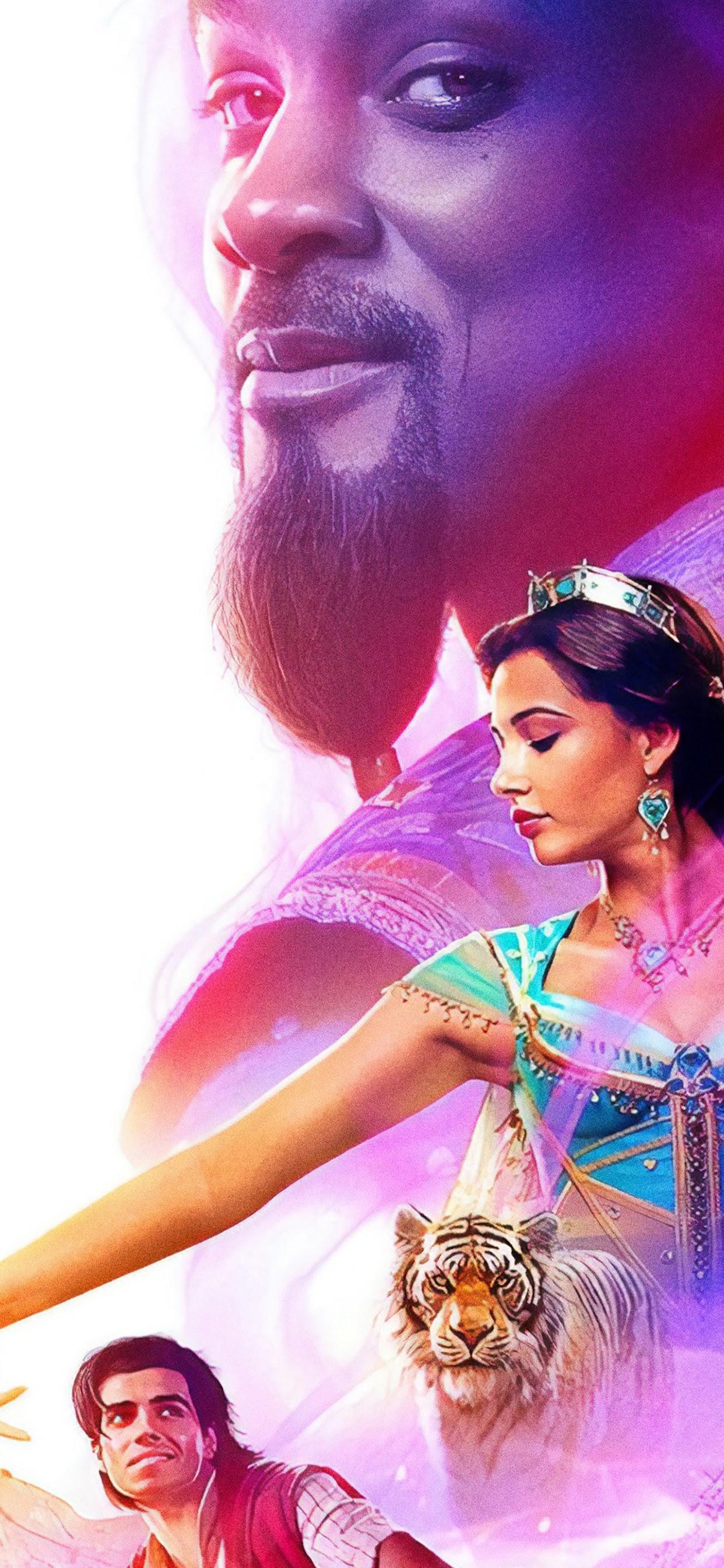 Aladdin 2019 Characters 4k Wallpaper 6
