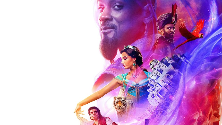 Movie Poster 2019: Aladdin, 2019, Characters, 4K, #6 Wallpaper