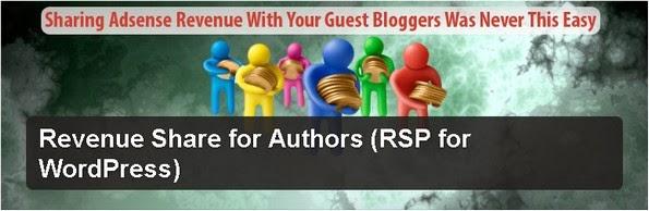 Revenue Share for Authors plugin for WordPress