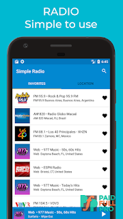 Simple Radio Player Free Live AM FM Premium APK
