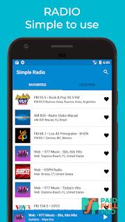 Simple Radio Player Free Live AM FM Premium APK