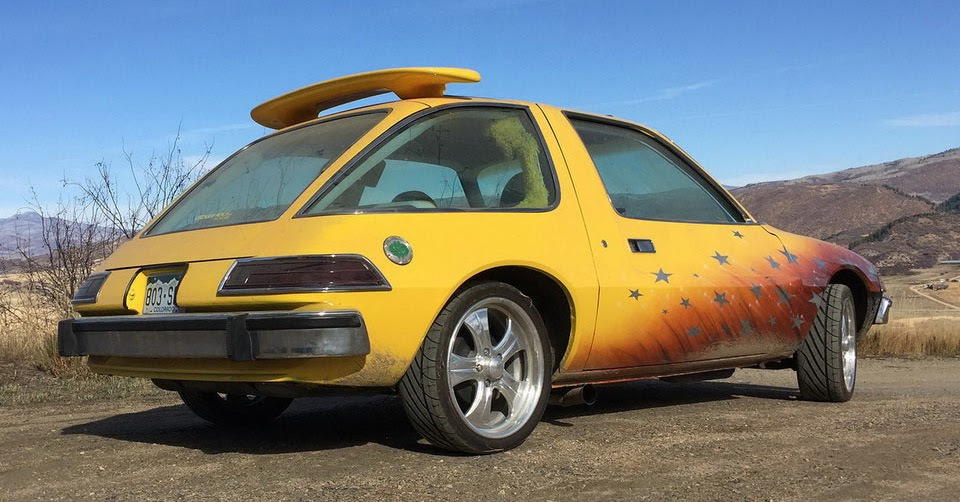 craptastic amc pacer from pimp my ride is up for sale. Black Bedroom Furniture Sets. Home Design Ideas