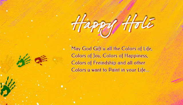 Formal Holi Wishes in English