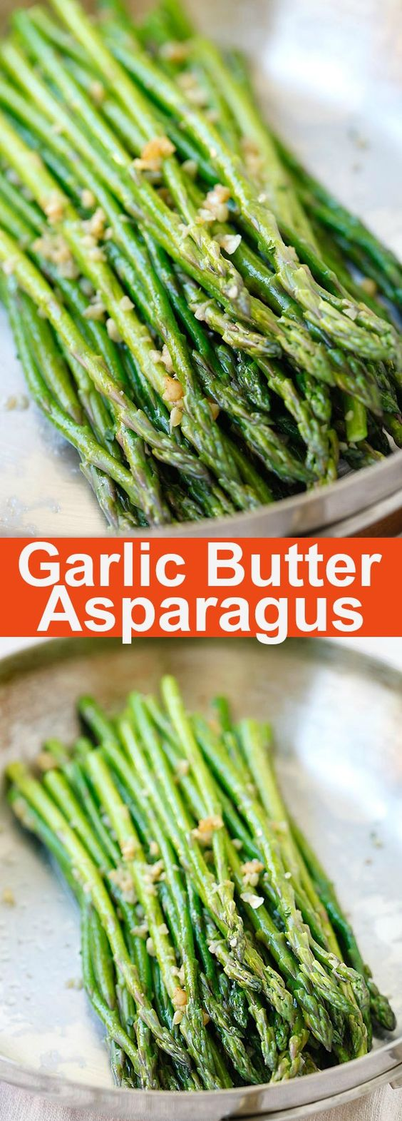 Garlic Butter Sauteed Asparagus #garlic #butter #sauteed #asparagus #veganrecipes #vegetarianrecipes #vegetablerecipes