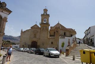 Antequera, Iglesia de Santa María de Jesús.