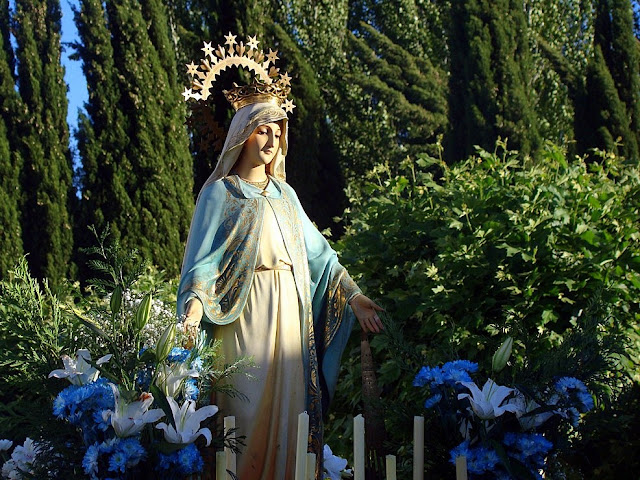 Imagen de la Virgen Milagrosa