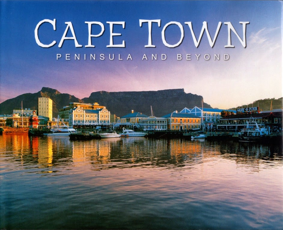 "livro ""Cape Town - peninsula and beyond"""