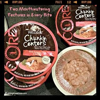 wellness core chunky centers dog food