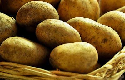 Patatas en cesta