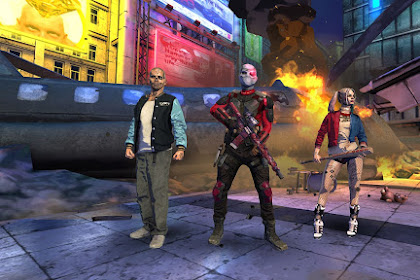 Download Game SUICIDE SQUAD: SPECIAL OPS APK V1.0 (MOD AMMO)