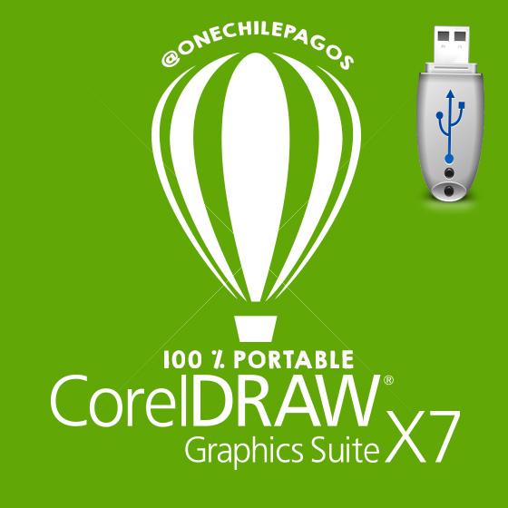 CORELDRAW X7 PORTABLE  PARA DESCARGAR GRATIS