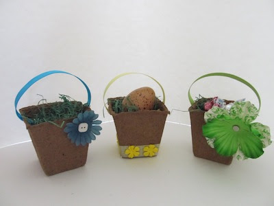 Peat Pot Baskets