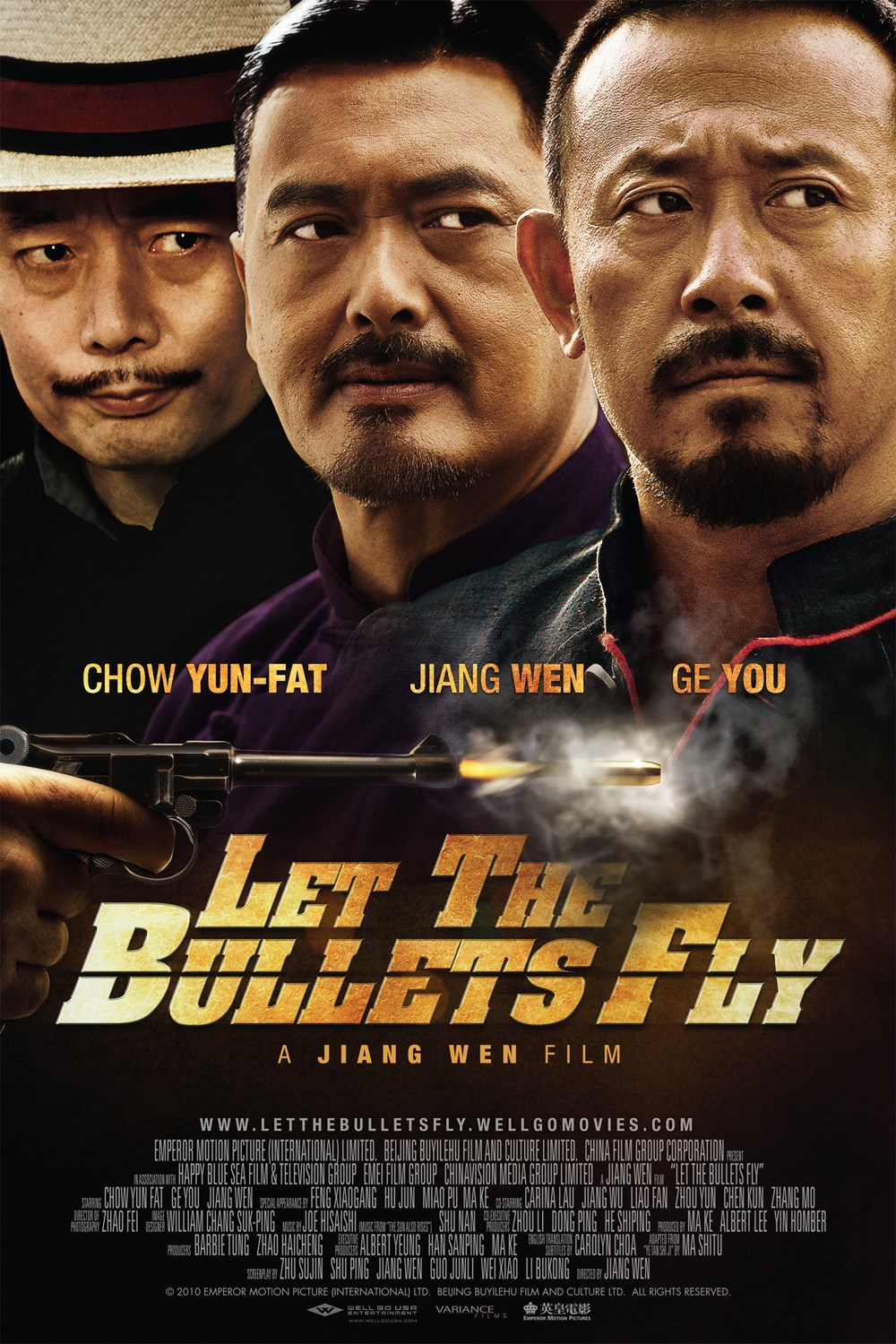 Let the Bullets Fly (2010) ταινιες online seires xrysoi greek subs