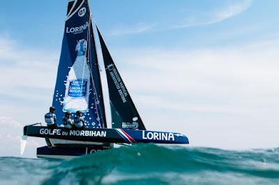 La Normandie Cup pour le Team Lorina Limonade Golfe du Morbihan de Quentin Delapierre
