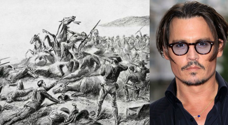 Johnny Depp Intends To Buy Site Of Wounded Knee Massacre And Gift It Back To The Native American People