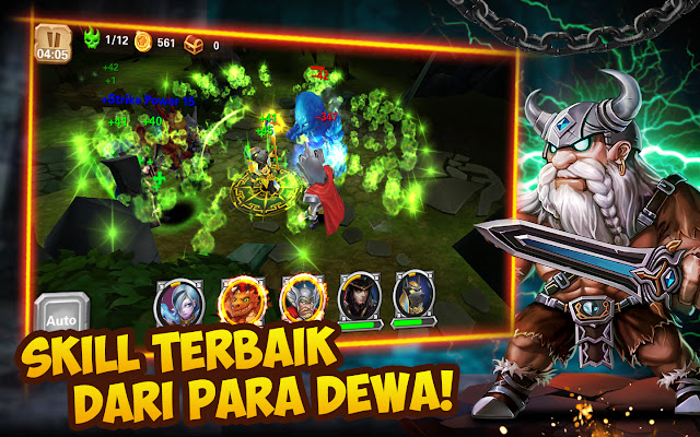 The Battle of Gods Apocalypse v0.16.6 Mod Apk(God Mode+One Hit Kill)For Android