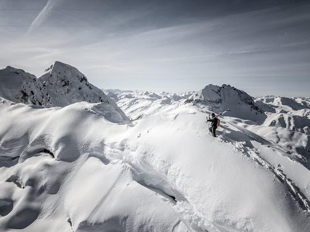 Uphill Ski Downhill Kleiner Rettenstein Kitzbühel