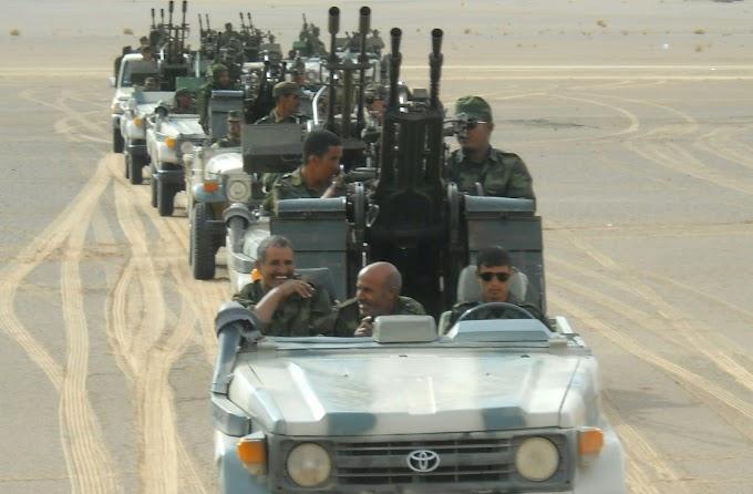 Movimientos militares del ejército marroquí hacia la zona de El Guerguerat y el Frente Polisario advierte.
