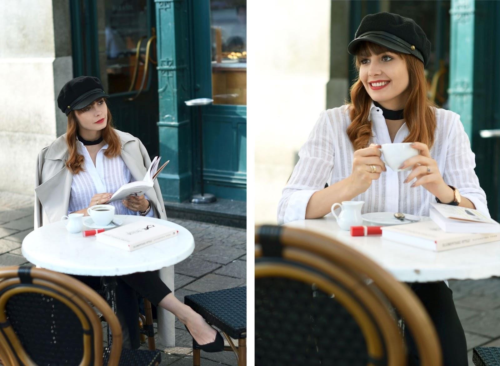 blog modowy | biala koszula | klasyczny trencz | klasyka