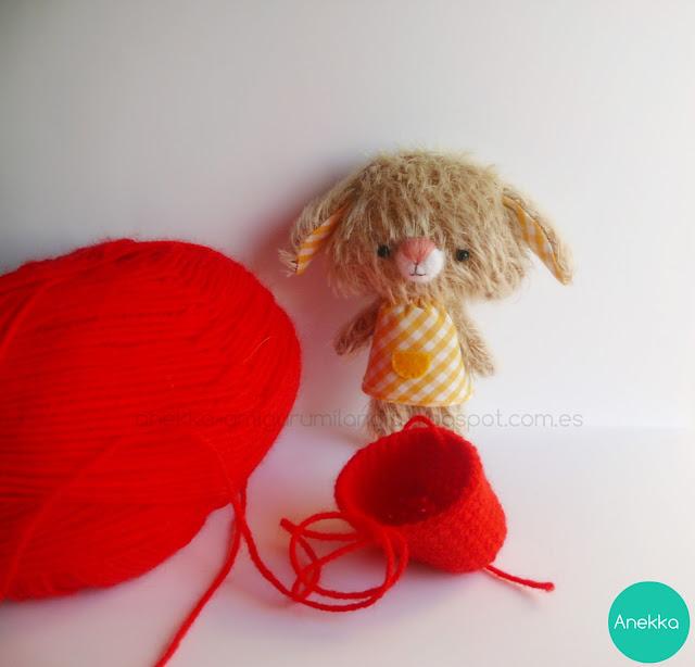 mohair doll handmade