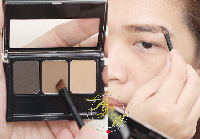 a photo of Maybelline FashionBrow 3D Brow & Nose Palette Review