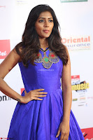Eesha in Cute Blue Sleevelss Short Frock at Mirchi Music Awards South 2017 ~  Exclusive Celebrities Galleries 057.JPG