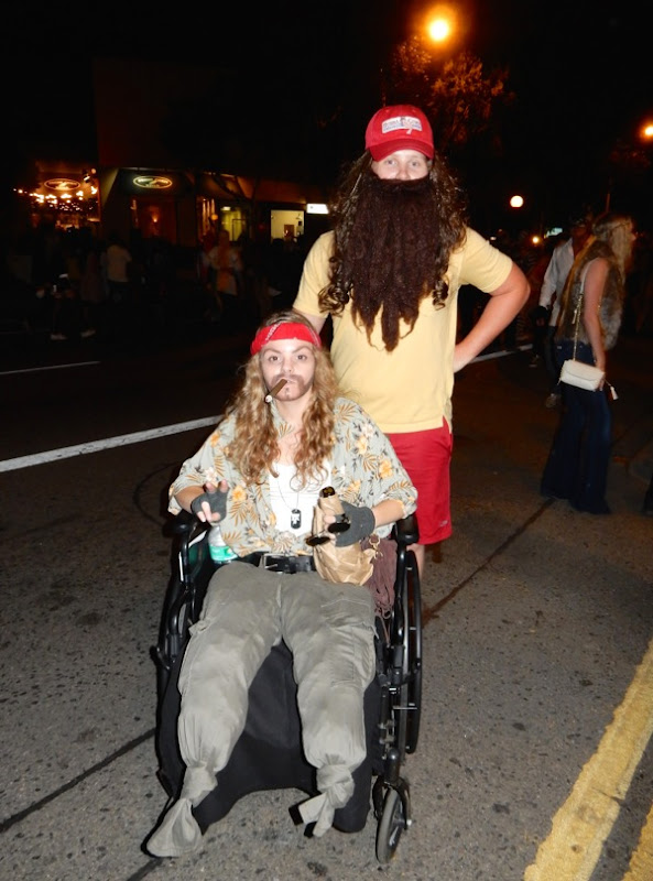 West Hollywood Halloween Forrest Gump costumes