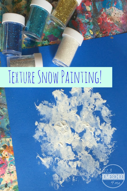 Van Gogh Inspired Texture Art Project for Kids perfect for winter, art activities for kids for toddler, preschool, prek, kindergarten, first grade, 2nd grade, 3rd grade, and 4th grade kids.