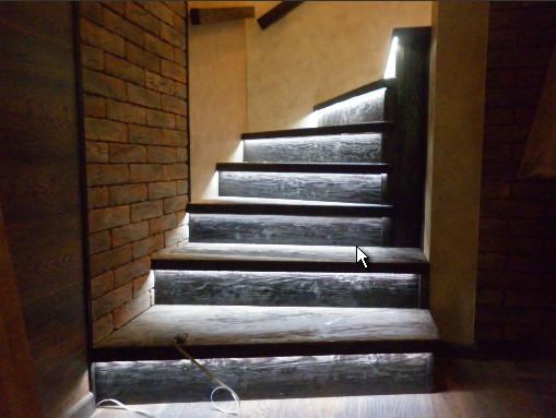 Подсветка лестницы Севастополь