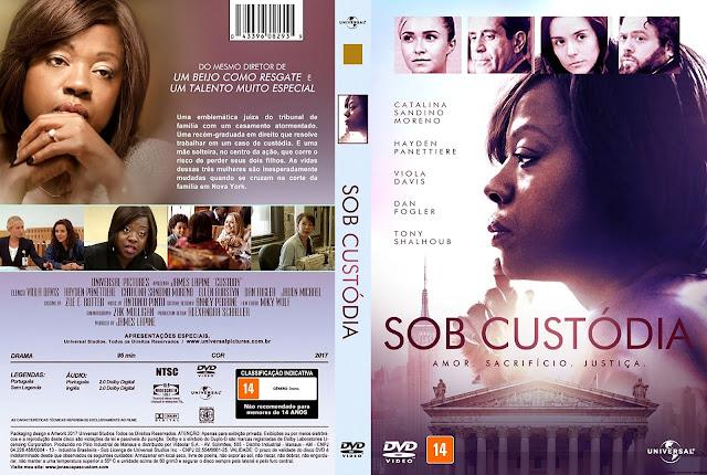 Capa DVD Sob Custódia