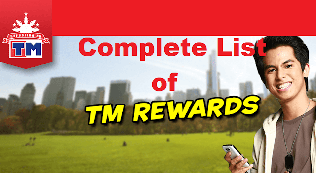 Updated List of TM Rewards: Call, Text, Surf and Partner Stores