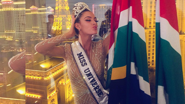 Miss South Africa Crowned as Miss Universe 2017