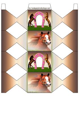 Kit para Fiesta con el Tema Caballos para Imprimir Gratis.