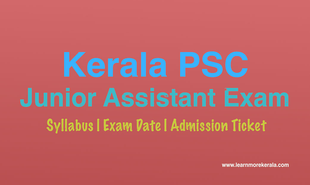 kerala psc company board corporation junior assistant LDC examination May 2018