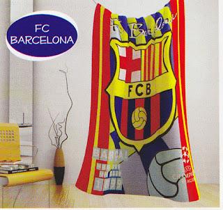 Selimut Kintakun Flannel Barcelona