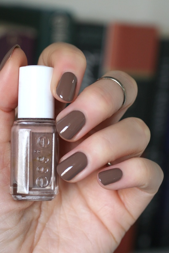 Essie Soft Brown Comparison Mink Muffs Don T Sweater It Hot Coco Glamour Purse Fierce No Fear Essie Envy