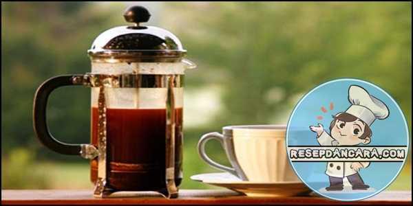 Resep dan Cara Membuat Espresso Dengan French Press