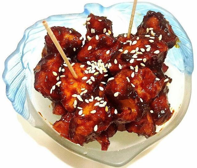resep korea, korean food ,Yangnyeom Tongdak,jajan korea, cemilan