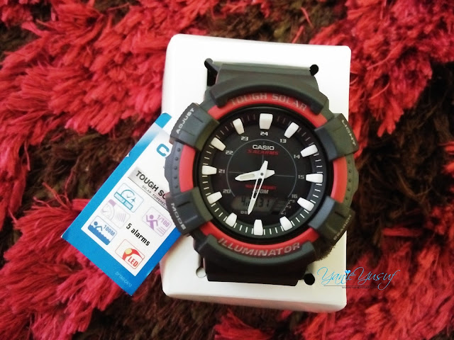 Jam tangan Casio Tough Solar 5208 (AD S800WH)