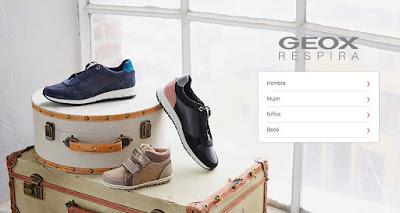 oferta de zapatillas de la marca geox