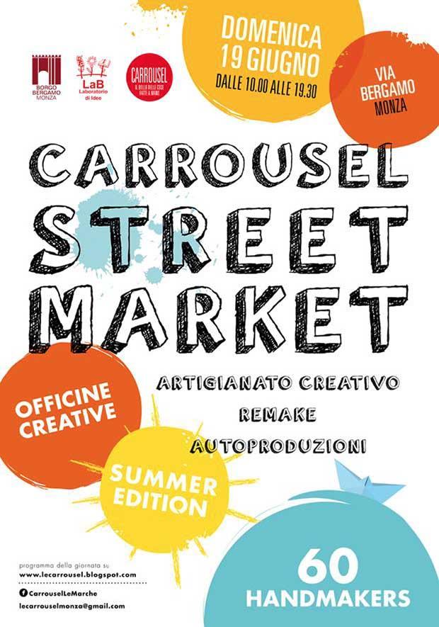 Carrousel streetmarket monza giugno