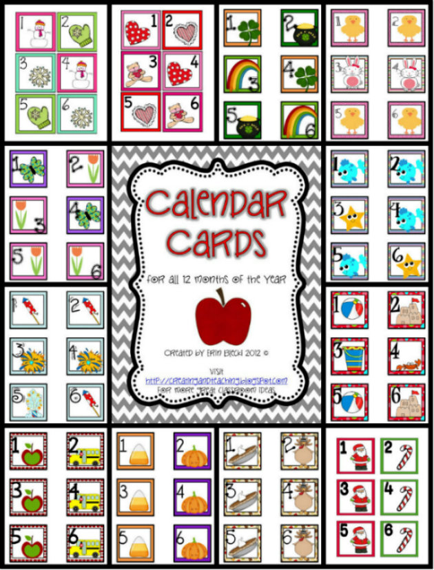 free clipart for teachers calendar - photo #38