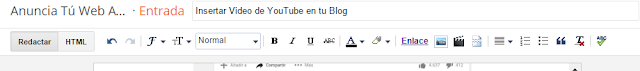 Insertar video youtube en tu blog 2