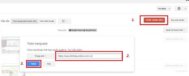 Khái báo Sitemap với tối ưu SEO cho Template TinhDauOnline - Ảnh 1