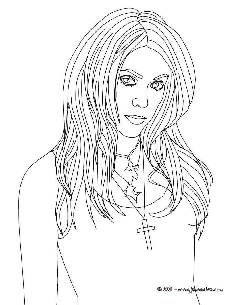 coloring pages of nacked girls - photo#19