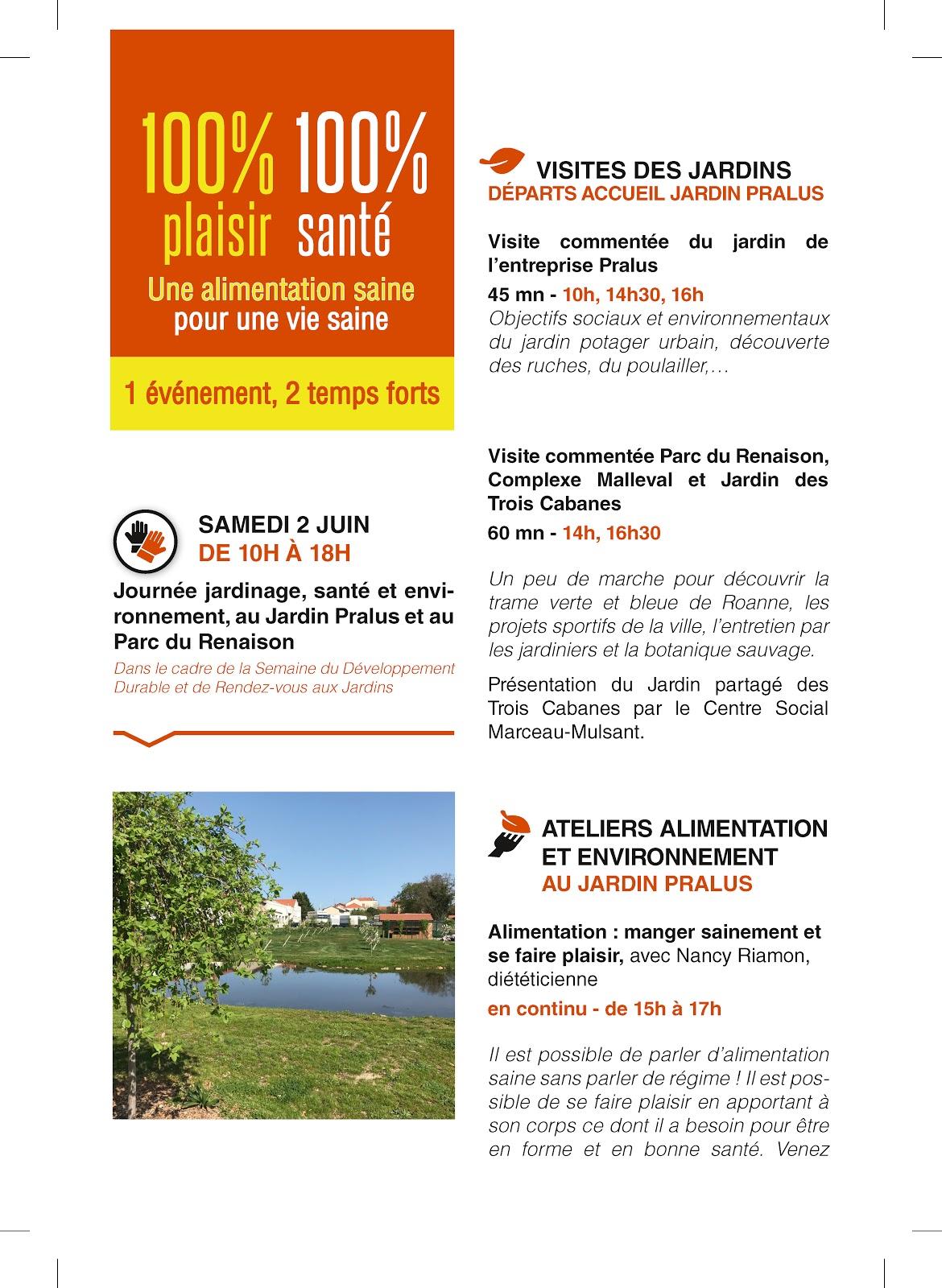 Vivre Bio En Roannais 100 Plaisir 100 Sante Ateliers