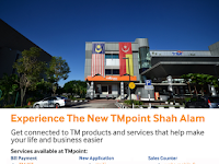 Experience The New TMpoint Shah Alam 2017