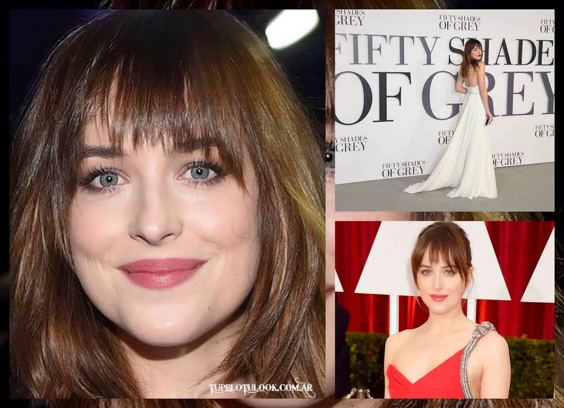 look peinados 2015 Dakota Johnson